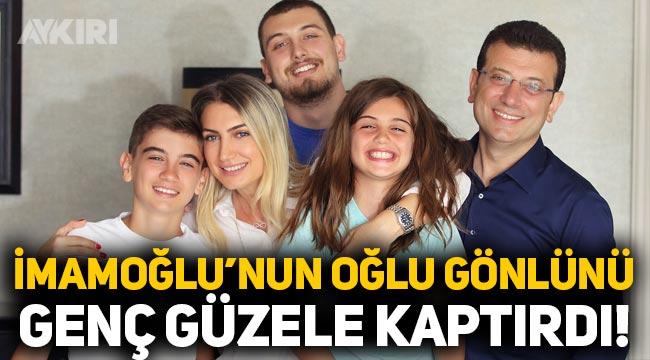 Ekrem İmamoğlu'nun oğlu Mehmet Selim, gönlünü genç güzele kaptırdı! Melis Çatak kimdir?