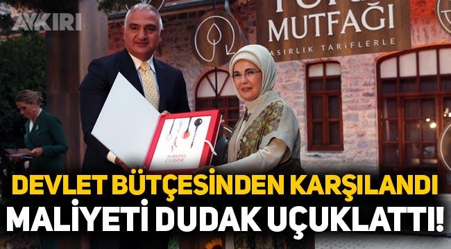 Emine Erdoğan'ın kitabına yaklaşık 1 milyon lira harcandı, devlet bütçesinden karşılandı