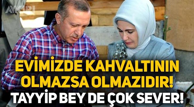 """Emine Erdoğan: """"Evimizde kahvaltıda olmazsa olmazımızdır, Tayyip Bey de kahvaltıda çorbayı çok sever!"""""""