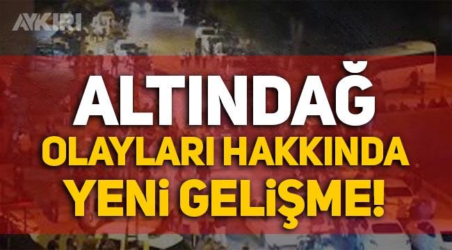 Emirhan Yalçın'ın öldürülmesiyle başlayan Altındağ olayları hakkında yeni gelişme!