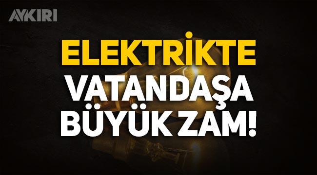 Enerji sektöründeki gelişmeler, vatandaşlara elektrik zammı olarak yansıyacak!