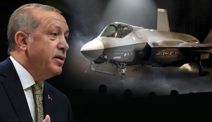 """Erdoğan'dan ABD'ye: """"Ya parayı verecekler ya uçakları"""""""