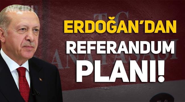 """Erdoğan'dan yeni anayasa hamlesi: """"Referanduma götürerek """"güvenoyu"""" almak istiyor!"""""""