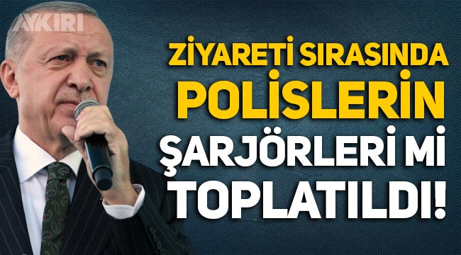 Erdoğan'ın ziyareti sırasında polislerin şarjörleri mi toplatıldı: Mersin Valiliği'nden açıklama
