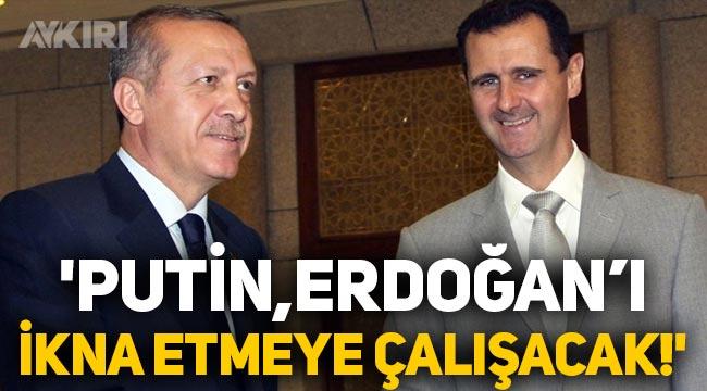Erdoğan Rusya'ya gidiyor: Putin, Esad için ikna etmeye çalışacak!