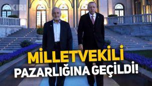 Erdoğan ve Oğuzhan Asiltürk anlaştı, milletvekili pazarlığına geçildi!