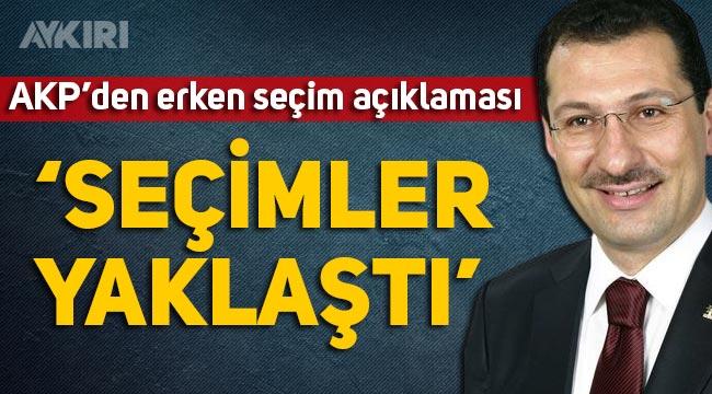Erken seçim olur mu? AKP'li Ali İhsan Yavuz'dan erken seçim açıklaması
