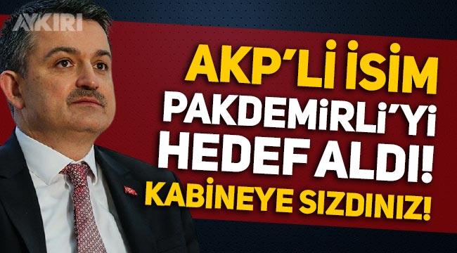 Fahiş fiyat tartışması: AKP'li Şamil Tayyar, Bekir Pakdemirli'yi hedef aldı!
