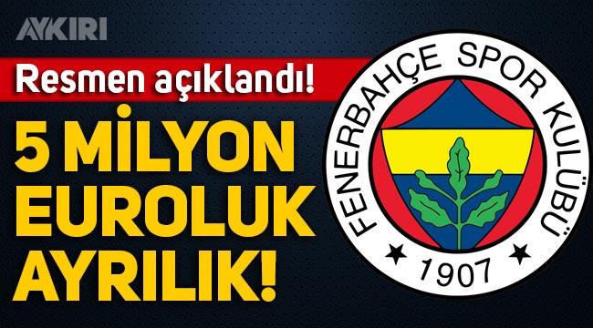 Fenerbahçe'de Samatta Antwerp'e kiralandı: 5 milyon euroluk ayrılık!