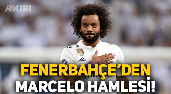 Fenerbahçe'den Marcelo hamlesi! Real Madrid'e teklif