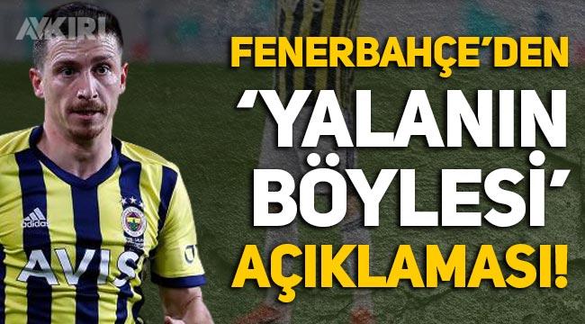 """Fenerbahçe'den Mert Hakan Yandaş açıklaması: """"Yalanın böylesi!"""""""