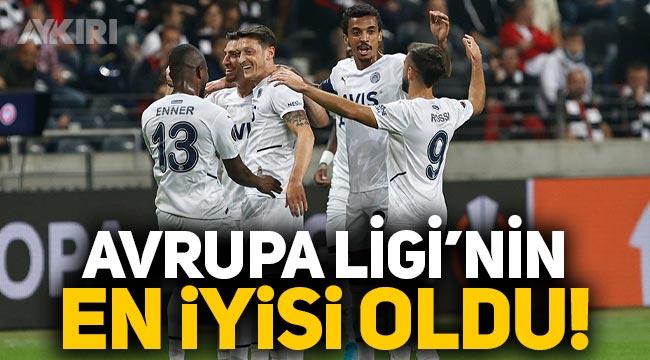 Fenerbahçe hücumda etkinliği ile Avrupa Ligi'nin en iyisi oldu!