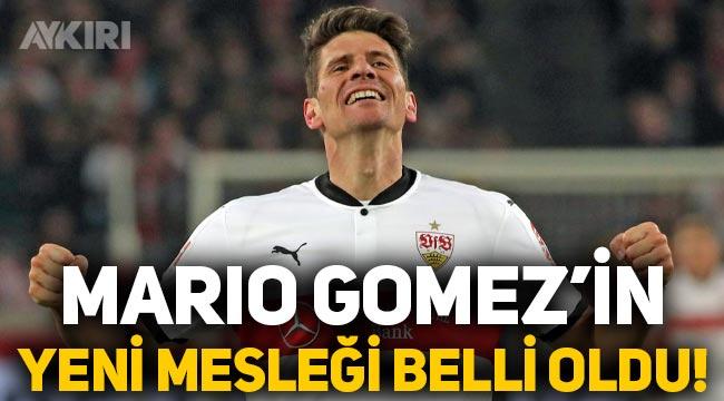 Futbolu bırakan Mario Gomez'in yeni mesleği belli oldu!