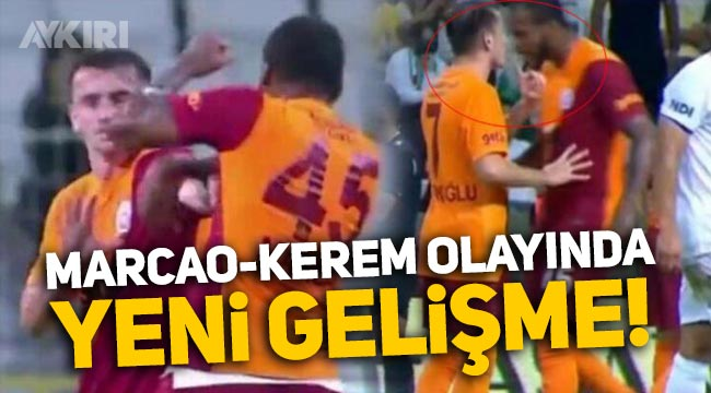 Galatasaray'da kritik Marcao ve Kerem Aktürkoğlu gelişmesi!