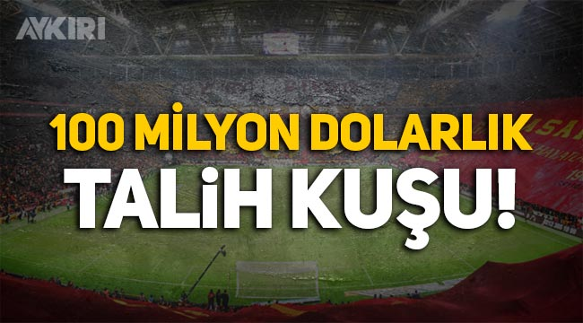 Galatasaray'da stadyumun adı değişiyor: 100 milyon dolarlık gelir!