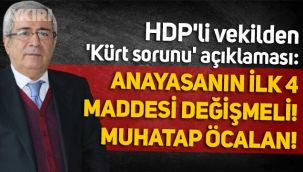 HDP'li İmam Taşçıer'den 'Kürt sorunu' açıklaması: