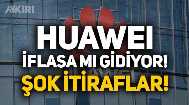 Huawei iflasa mı gidiyor? ABD yaptırımları sonrası Huawei gelirleri 40 milyar dolar düşecek!