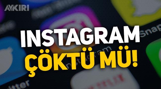Instagram çöktü mü, Instagram'da hikaye ve gönderi paylaşamama sorunu!