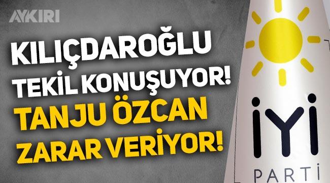 """İYİ Parti'den tepki: """"Kemal Kılıçdaroğlu tekil konuşuyor, Bolu Belediye Başkanı Tanju Özcan zarar veriyor"""""""
