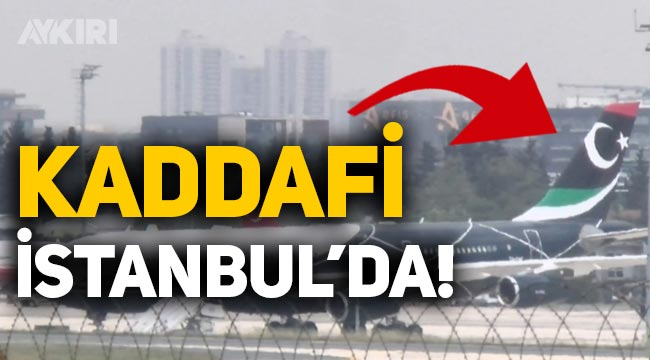Kaddafi'nin oğlu serbest bırakıldı, özel uçakla Türkiye'ye geldi! Kaddafi kimdir?