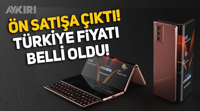 Katlanabilir telefon ön satışa çıktı, Türkiye fiyatı belli oldu! Samsung Galaxy Z Fold 3 özellikleri ne? Fiyatı ne kadar?