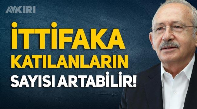 Kemal Kılıçdaroğlu: Millet İttifakı'na katılan partilerin sayısı artabilir