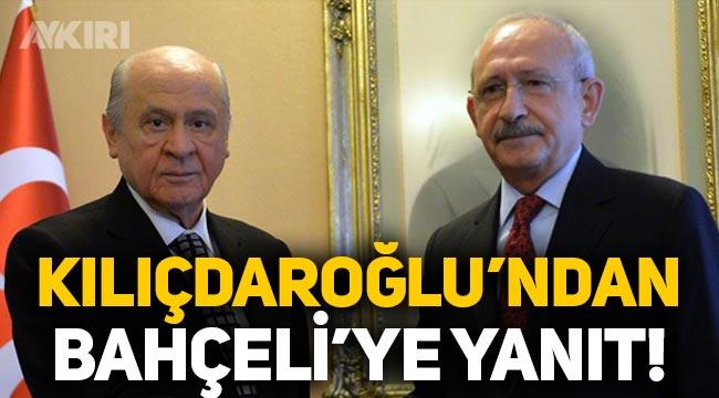 Kemal Kılıçdaroğlu'ndan Devlet Bahçeli'ye 'HDP' yanıtı