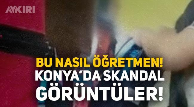 Konya'da 1.sınıfa başlayan çocuğa bağıran öğretmen sosyal medyanın gündeminde