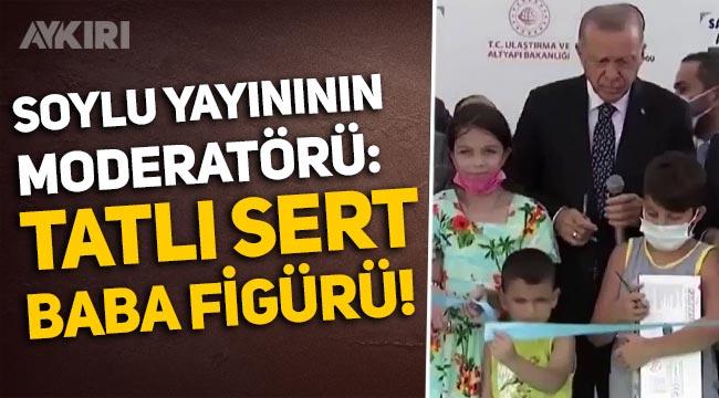 """Kübra Par'dan Erdoğan'ın kurdela kesen çocuğun kafasına vurmasına yorum: """"Tatlı sert baba figürü!"""""""