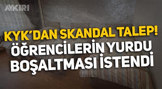 KYK'dan skandal talep: Öğrencilerden Teknofest için yurdu boşaltmaları istendi!
