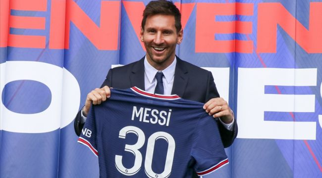 Lionel Messi'nin PSG'den alacağı maaş belli oldu