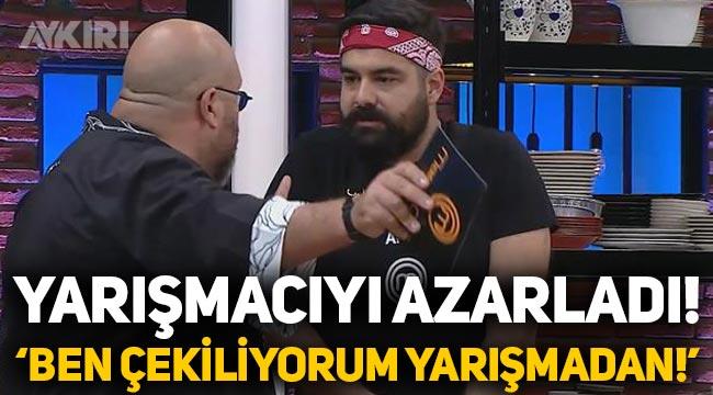 MasterChef'te gerginlik: Şef Somer Sivrioğlu, Araz'ı azarladı!