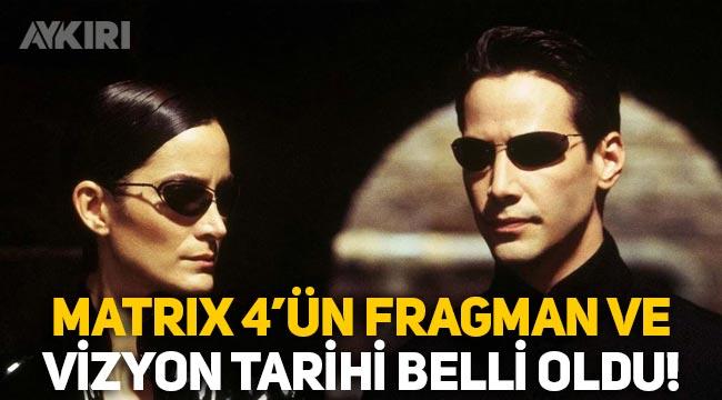 Matrix 4'ten ilk görüntüler geldi! Matrix 4'ün fragmanı ne zaman yayınlanacak? Matrix 4 fragman tarihi ve vizyon tarihi…