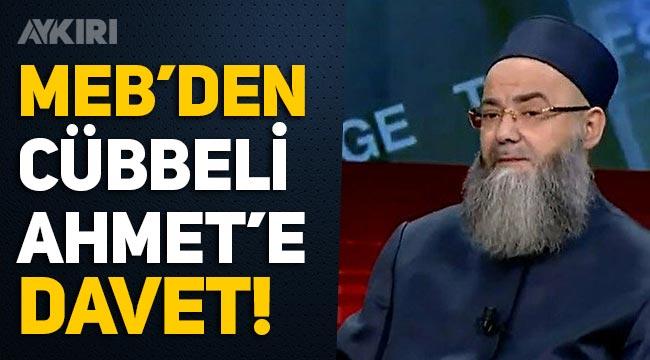 MEB'den Cübbeli Ahmet'e davet: Recep Tayyip Erdoğan İmam Hatip Lisesine davet ediyoruz!