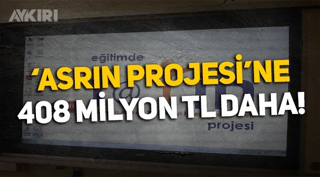 Milli Eğitim, Fatih projesine 408 milyon lira harcayacak