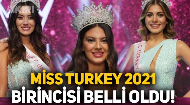 Miss Turkey 2021 birincisi belli oldu! Dilara Korkmaz kimdir?