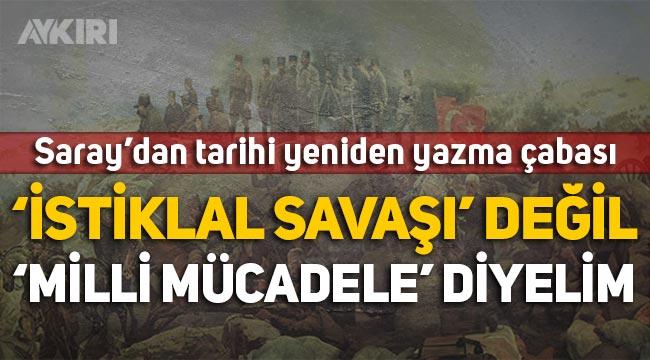 """Murat Bardakçı: """"İstiklal Savaşı' değil, 'Milli Mücadele' diyelim"""""""