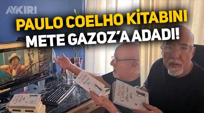 Paulo Coelho kitabını Mete Gazoz'a adadı!