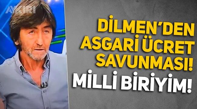"""Rıdvan Dilmen'den yeni asgari ücret açıklaması: """"Ne kadar aldıklarını bilecek kadar milli biriyim!"""""""