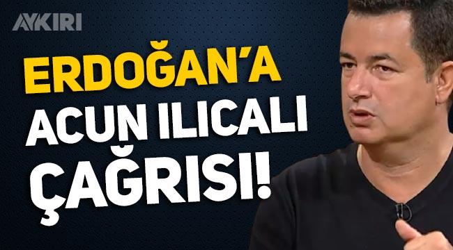 Sabah yazarından Erdoğan'a Acun Ilıcalı çağrısı