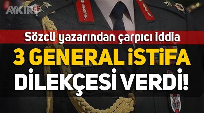Saygı Öztürk: 3 generalin istifa dilekçesi verdiğini öğrendim!