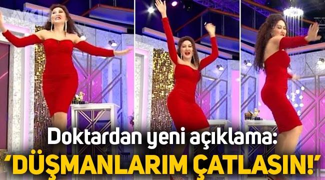 Seda Sayan'da dans eden doktor Banu Küçükpolat: Düşmanlarım çatlasın