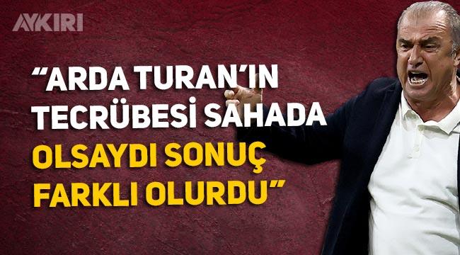 """Son dakika: Fatih Terim'in Trabzonspor maçı sonrası açıklamaları: """"Ardan Turan olsaydı farklı olurdu"""""""