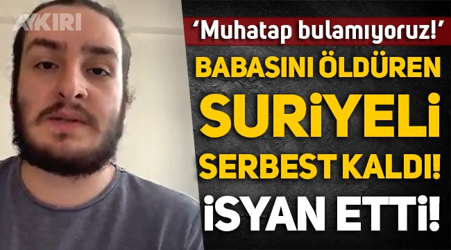 Suriyeli ehliyetsiz sürücü çarptı, babası hayatını kaybetti, Emre Turan isimli genç yaşananlara isyan etti!