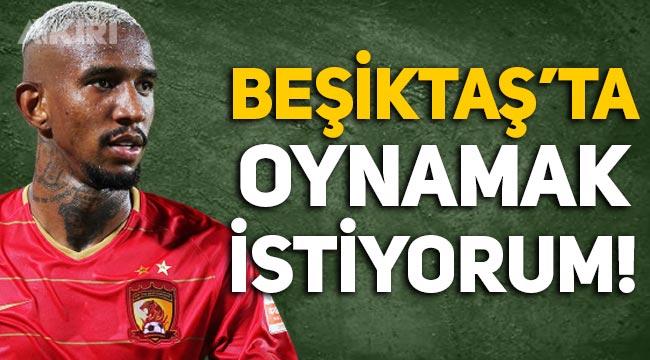 """Talisca'dan açıklama: """"Yine Beşiktaş'ta oynamak istiyorum!"""""""