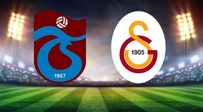 Trabzonspor - Galatasaray maçı saat kaçta, hangi kanalda? Trabzon - GS muhtemel 11'leri belli oldu