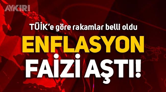 TÜİK'e göre enflasyon açıklandı: Yüzde 19.25!