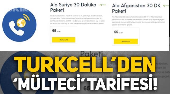 """Turkcell'den """"Alo Afganistan ve Alo Suriye"""" tarifesi!"""
