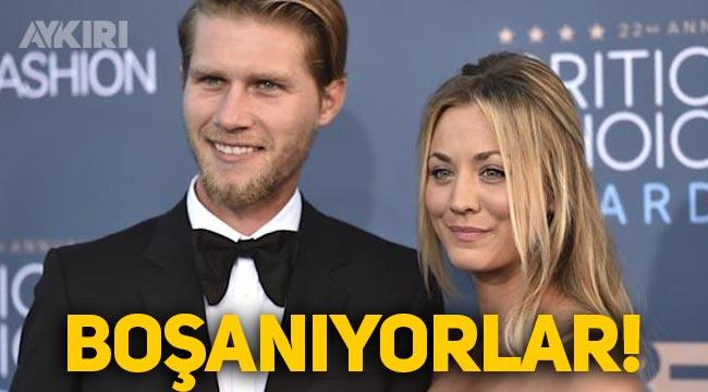 Ünlü oyuncu Kaley Cuoco ikinci eşinden boşanma kararı aldı