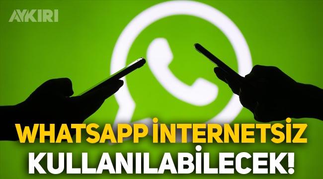 WhatsApp'ın çoklu cihaz özelliği Türkiye'de: İnternetsiz WhatsApp kullanılabilecek!